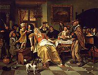 Twelfth Night, 1668, steen
