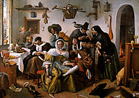 Wealth is looking, 1663, steen