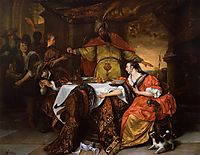 Wrath of Ahasuerus, 1673, steen