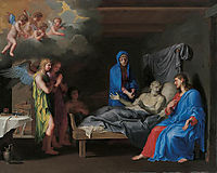 The death of Saint Joseph, stella