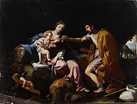 The Rest on the Flight into Egypt , 1639, stella