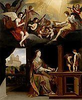 St. Cecilia, 1626, stella