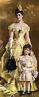 Baroness de Bonhome, 1886, stevens