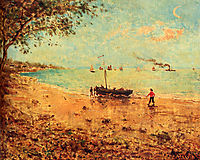 A Beach In Normandy, c.1885, stevens