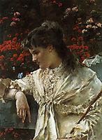 Reverie, c.1878, stevens