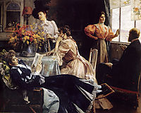 At Home, 1897, stewart
