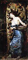 Half Naked Woman, 1877, stewart