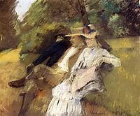 In The Park, 1882, stewart