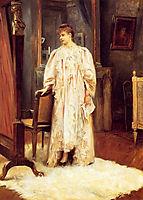 Lady In Her Boudoir, 1889, stewart