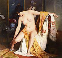 Nude in an Interior, 1914, stewart