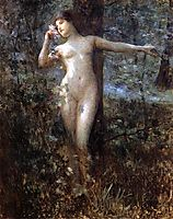 Nude in the Forest, stewart