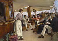 "On the Yacht ""Namouna"", Venice, 1890, stewart"