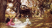 Picnic Under The Trees, c.1895, stewart