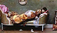 Reclining Woman, 1882, stewart