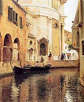 Rio della Maddalena, 1908, stewart