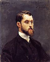 Self Portrait, 1886, stewart