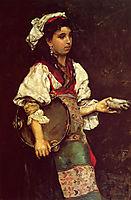 Spanish Girl, 1875, stewart