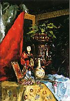 Still Life with Asian Objects, stewart