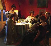 A Supper Party, 1903, stewart