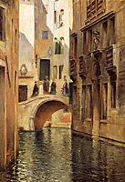 Venetian Canal, 1905, stewart