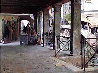 Venetian Market Scene, 1907, stewart