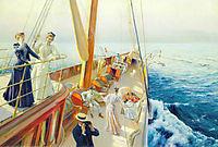 Yachting in the Mediterranean, 1896, stewart