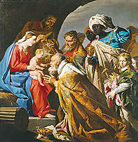 The Adoration of the Magi, stomer