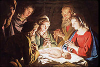The Adoration of the Shepherds, c.1640, stomer