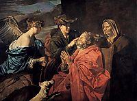 Healing of Tobit, stomer
