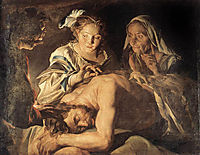 Samson and Delilah, stomer