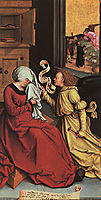 The Announcement to Anne and Joachim, 1510, strigel