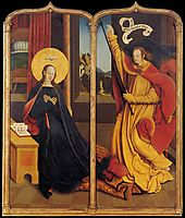 The Annunciation, 1520, strigel