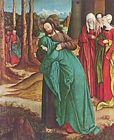 Christ Taking Leave of His Mother, c.1520, strigel