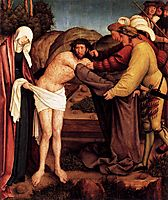 Disrobing of Christ, c.1520, strigel