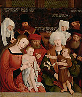 Holy Family, 1520, strigel
