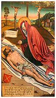 Lamentation of Christ, 1509, strigel