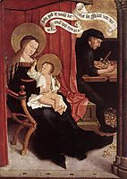 Mary and Joseph with Jesus, c.1506, strigel
