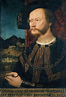 Portrait of Count Johann II, Count of Montfort and Rothenfels, 1523, strigel