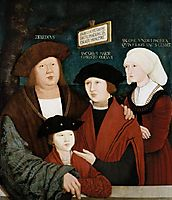 Portrait of the Cuspinian Family, 1520, strigel