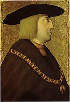 Portrait of the Emperor Maximilian I, strigel