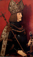 Portrait of Maximilian I (1459-1519), 1508, strigel