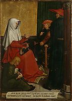 St. Mary Salome and Zebedee with John the Evangelist and James the Great, c.1506, strigel