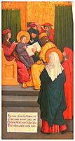 Twelve-year-old Jesus in the Temple, 1520, strigel