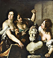 Allegory of Arts, 1640, strozzi