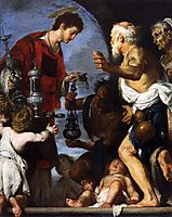 The Charity of St. Lawrence, 1640, strozzi