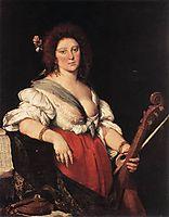 Gamba Player, c.1635, strozzi