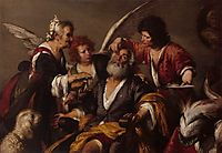 The Healing of Tobit , 1630, strozzi