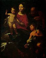 Holy Family with St. John the Baptist, c.1600, strozzi