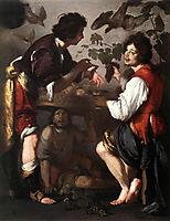 Joseph Telling his Dreams, strozzi
