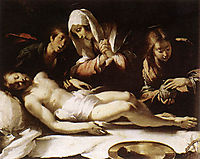 Lamentation over the Dead Christ, 1617, strozzi